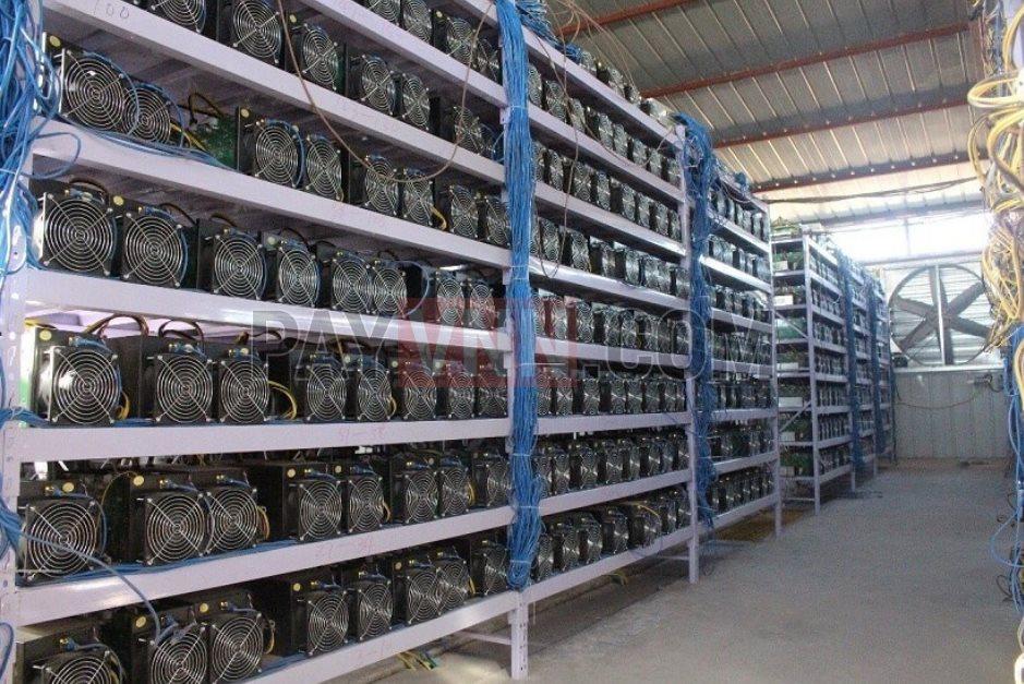 Một mỏ đào Bitcoin chuyên nghiệp