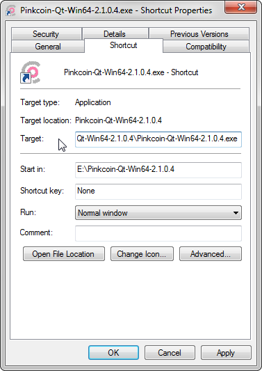 HDSD PinkCoin Wallet Bước 4