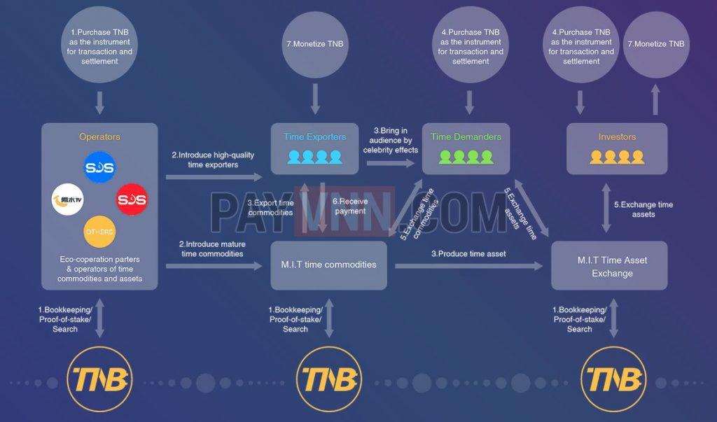 Mô hình hoạt động của TNB
