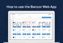 Sử dụng Bancor Web App