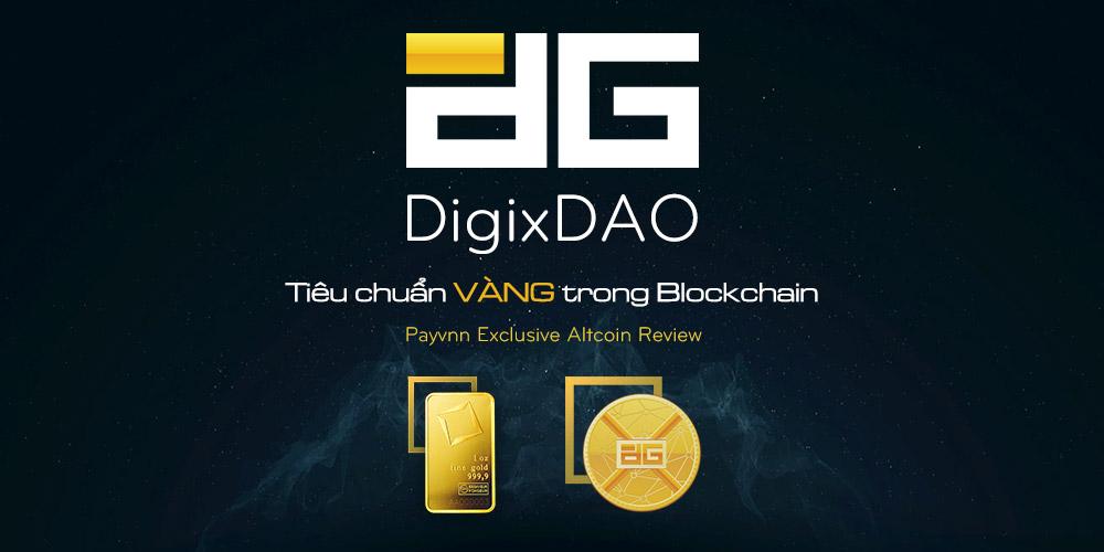 DigixDao vàng trong Blockchain