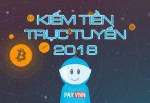 Kiếm tiền trực tuyến 2018
