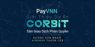 PayVNN giới thiệu dự án sàn giao dịch phân quyền CORBIT