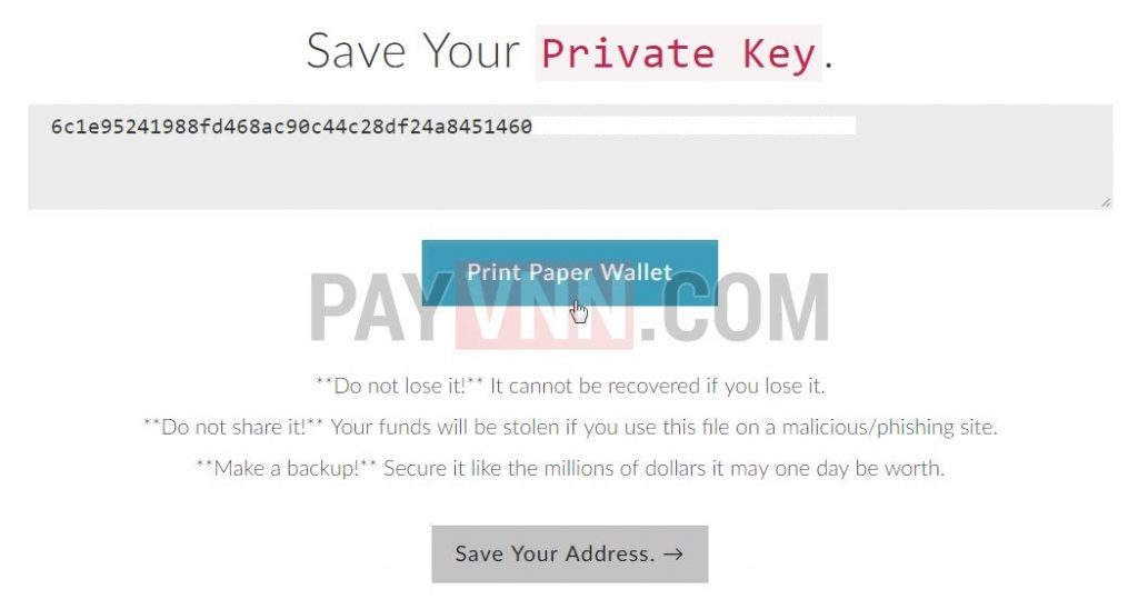 how to get private key from metamask