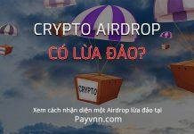 Crypto Airdrop co lua dao