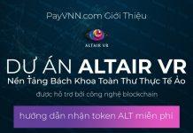 Giới Thiêu Altair VR