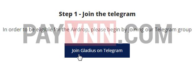 Tham Gia Telegram Gladius