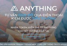 Anything ICO Cách Nhận Token Miễn Phí Tại Payvnn