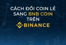 Cach doi coin le sang BNB Binance