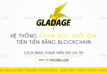 GladAge ICO Huong Dan Tham Gia Airdrop cung PayVNN