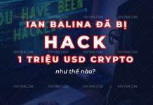 Ian Balina bi hack 1 trieu usd crypto
