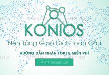KONIOS ICO Hướng dẫn nhận token miễn phí