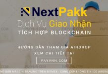 NextPakk ICO PayVNN Hướng Dẫn Nhận Token Miễn Phí
