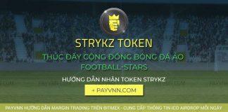 STRYKZ ICO Hướng dẫn nhận token miễn phí tại PayVNN