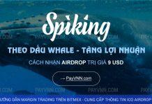 Spiking ICO Hướng Dẫn Nhận Airdrop Từ PayVNN