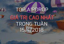 Top Airdrop Gia tri cao