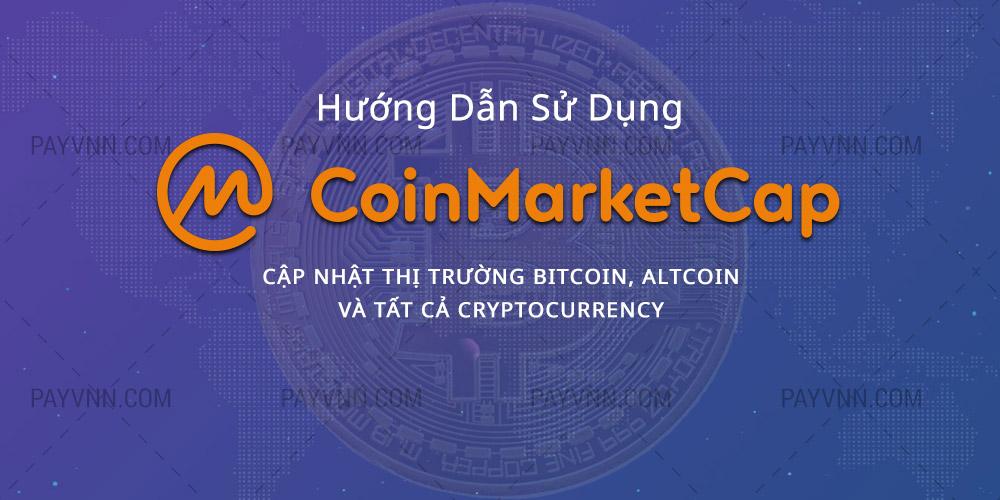 Huong dan CoinMarketCap