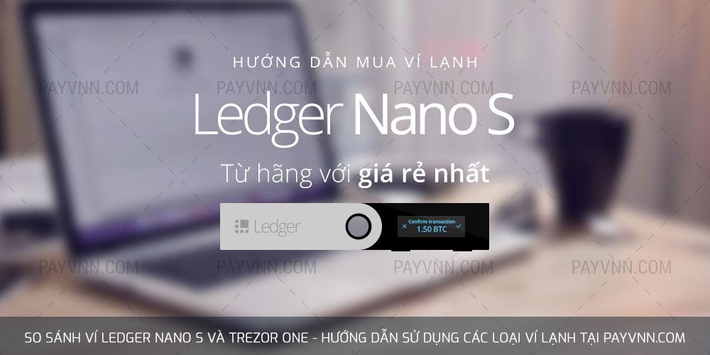 Mua Ledger Nano S