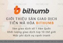 PayVNN Giới Thiệu Sàn Giao Dịch Bithumb
