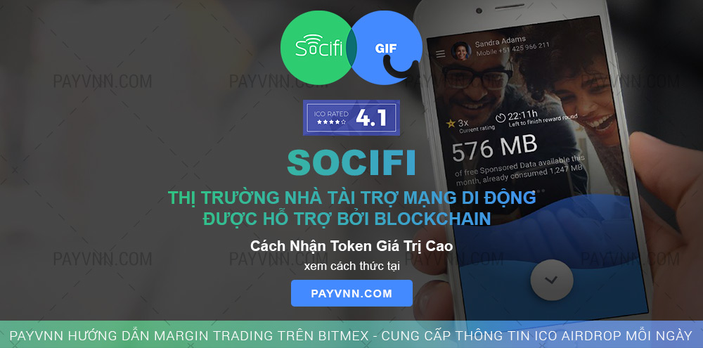 PayVNN Giới Thiệu ICO GIF by SOCIFI