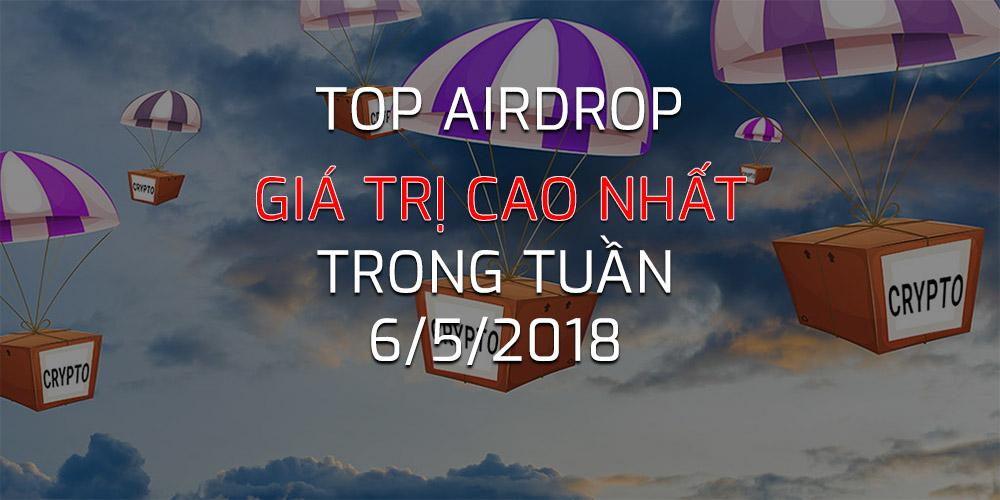 Top Airdrop Ngay 6 thang 5