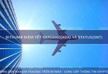 Bithumb Niêm Yết Cardano(ADA) và Status(SNT)