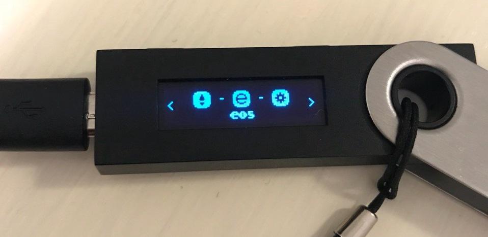 EOS Mainnet Ledger Nano S