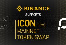 ICON ICX Mainnet Swap