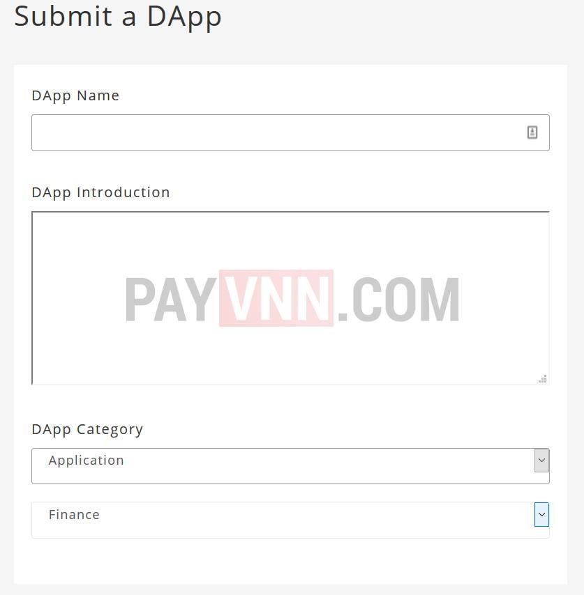 Submit DApp Nebulas