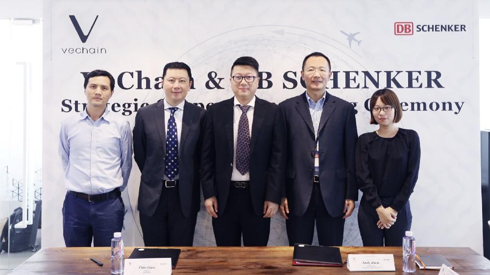 VeChain [VEN] Cộng tác với nhà cung cấp hậu cần hàng đầu DB Schenker
