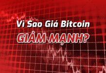 Vi sao gia Bitcoin giam manh