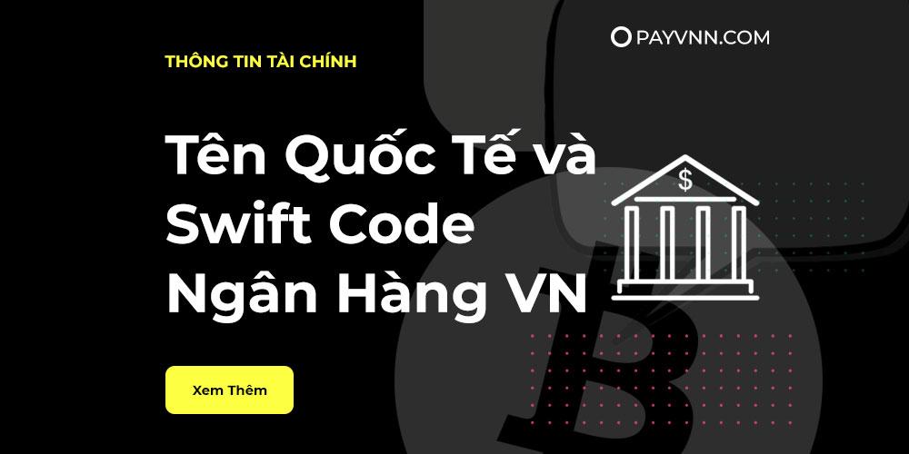 Swift code ngan hang